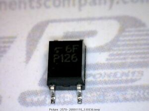 200 pcs Transistor Ac in Trans out 4 smd 4 pin Mfsop Toshiba Tlp126 126