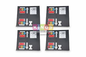 4 Pcs Brand New Ad 330 Keypad For Adc P n 112562 Free Shipping