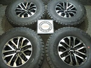 2019 F150 Raptor Svt 17 Factory Oe Wheels Lt315 70r17 Bfg Tires 2004 2019 C35