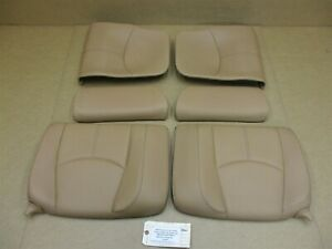 08 Carrera Turbo 911 Porsche 997 Cabrio 6 Rear Seat Cushions 99752223601 30 254
