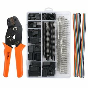 Proster Dupont Crimper Sn 28b Ratchet Crimping Tools With 1550pcs Male female Pi
