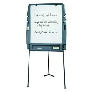 Iceberg Ice30227 Portable Flipchart Easel W Dry Erase Whiteboard Surface