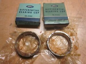 1932 36 Ford Differential Bearing Cups Nos