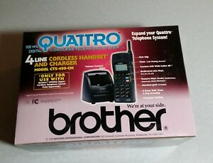 Brother 900 Mhz 4 Line Digital Cordless Phone With Base Unit Caller Id Server