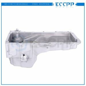 New Engine Oil Pan For 2005 2006 Chevy Silverado 1500 Hd Engine Oil Pan Black