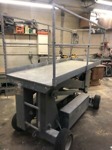 Man Lift Upright Sl20 Scissor Lift 20 Feet Boom