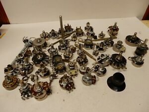 Huge Lot Of Potentiometers Nos And Used Cts Irc Clarostat Almost 3 Pounds
