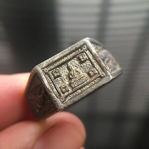 Ring Yantra Thai Buddha Amulet Love Luck Charm Rich Attract Protect Size 9 5