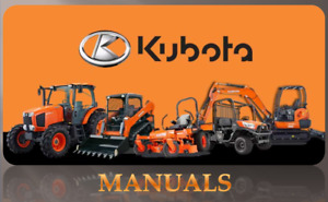 Kubota Bx25 La240 Bt601 Rck54 Rck54p Rck60b Workshop Manual On Cd