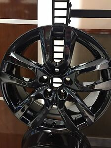 18 Lexus Nx Nx200t Nx300 Pvd Black Chrome Wheel Rims Set 4 Oem 74328 With Caps