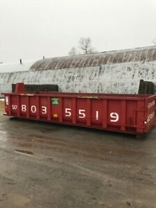 Hook lift 20 Yd Roll Off Container dumpsters