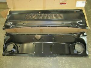 Cowl Panel Assembly 2 piece 1965 1966 Mustang