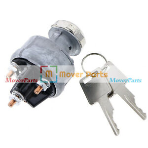 Ignition Switch Key For Bobcat Wheel Loaders 1600 2000 2400 2410