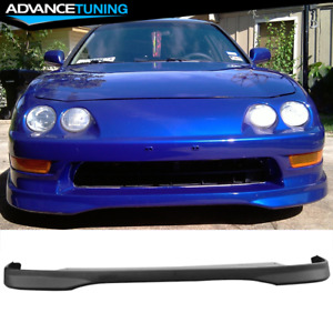 Fits 94 97 Acura Integra Dc2 Jdm Tr Style Front Bumper Lip Spoiler Pp