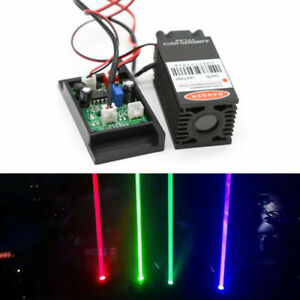 450nm 445nm 2 W 2000mw High power Blue Laser Module Engraving Wood Carving New