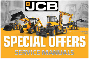 Jcb Military Groundhog 4x4 Service And Repair Manual On Cd