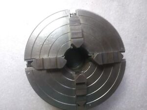 L W Chuck Co 6 Four Jaw Lathe Chuck