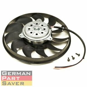 New Audi A6 Quattro 2006 2011 Radiator Cooling Fan Motor Right 4f0959455a