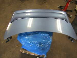 2006 2007 Infiniti G35 Coupe Trunk Lid With Spoiler Oem