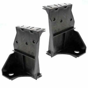 For 98 00 Tacoma Pickup Truck 2wd Front Bumper Mounting Brace Bracket Set Pair