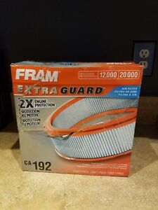 Fram Extra Life Air Filter Double Layer Protection Ca192 A25
