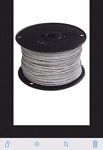 Southwire 26978706 Tfn Solid Wire White 500 Buying 2 Rolls 1000 Total
