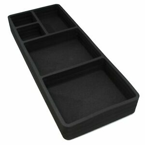 Extra Large Trunk Organizer Cargo Hatch Insert Black Universal Fit 39 Car Truck