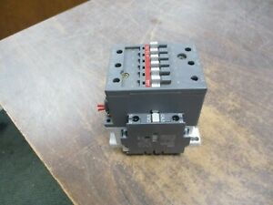 Abb Contactor A75 30 120v Coil 105a 600v W Aux Contact Used
