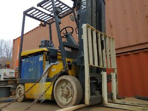 Yale Electric Forklift Lift Truck Fork Lift