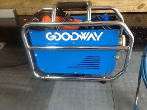 Goodway Ram Pro 60 Tube Cleaning Machine