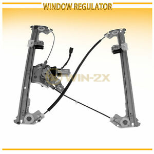 1pc Rear Left Power Window Regulator W Motor Fit 04 08 Mark Lt F150 Crew Cab