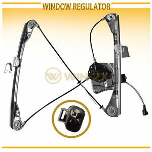 1pc Front Left Power Window Regulator W Motor Fit Grand Am Alero 4 Door Sedan