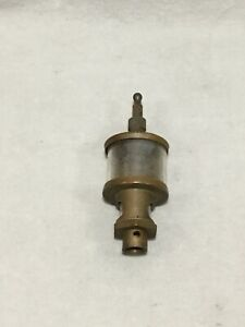 Antique Steam Engine hit And Miss Engine Oiler Michigan Lubricator Co 48a32b