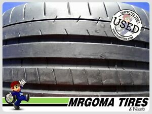 1 Michelin Pilot Super Sport Xl 245 35 21 Used Tire 95 Life No Patch 2453521