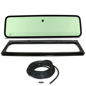 New Green Windshield Glass With Frame Seal Kit For Jeep Wrangler Yj 1987 1995