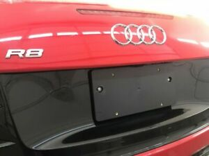 Rear License Plate Tag Holder Bracket For Audi R8 Screws Wrench Brand New