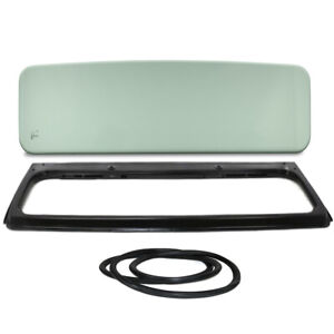 New Green Tinted Windshield Glass With Frame Seal Kit For Jeep Cj5 1976 1983