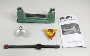 RCBS M500 Mechanical Scale Green LeftRight