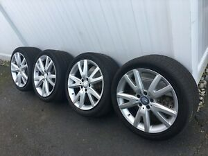 Mercedes Benz 18 Rims And Tires Complete Set Like New
