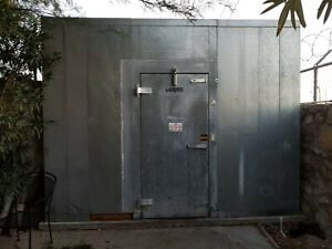 American Panel Walk In Cooler Used Gray