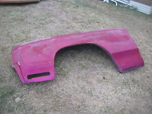 Original Gm Used 1970 Monte Carlo Left Fender Hard To Find Can Fit 1971 72