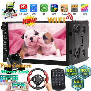 7 Android Wifi Car Stereo Radio For Ford F 150 Edge Explorer Mustang Expedition