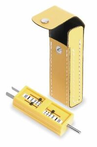 Receptacle Tension Tester With Black Case Woodhead 1760 Authorized Distributor