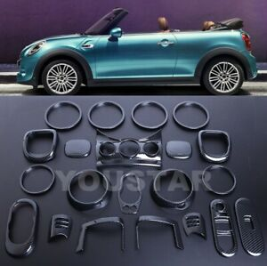 Express 21x Carbon Effect Interior Trims Bmw Mini Cooper S F57 Convertible Jcw