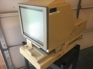 Eyecom Rp9000 Microfilm Microfiche Reader Printer Untested ar