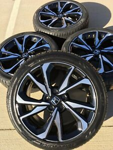 18 18 Inch Honda Civic Accord Si Rims Rines Wheels Factory Oem