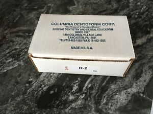 Columbia Dentoform Model Formers R 2 1r2 Lot Of 9