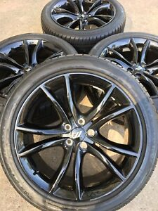 20 20 Inch Dodge Charger Challenger Rt Wheels Rims Rines Tires Oem Factory