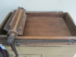 Antique Reid S 4 Butter Working Table Churn Philadelphia Pat March 1875