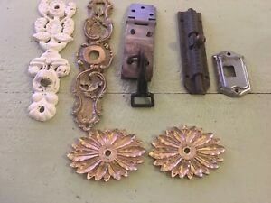 Miscellaneous Vintage Door Hardware Lot Of 7
